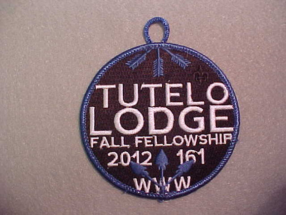 161 eR2012-? TUTELO 2012 FALL FELLOWSHIP
