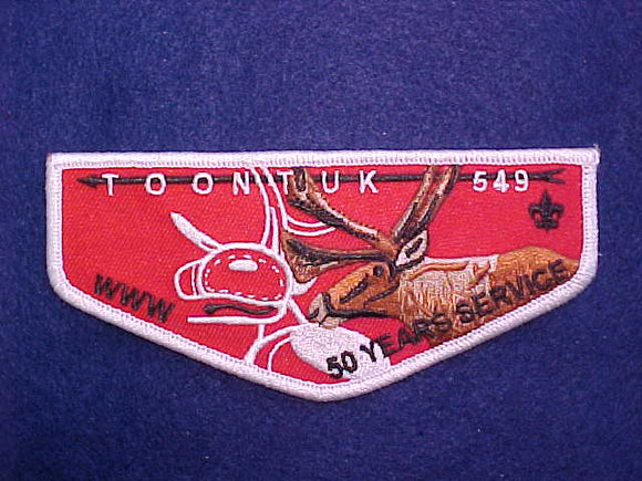 549 F? TOONTUK, 50 YEARS OF SERVICE