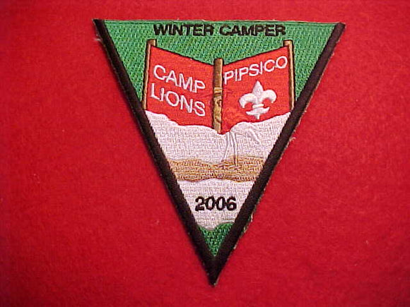 349 eX2006-? Blue Heron, 2006, Camp Lions, Pipsico, Winter Camper