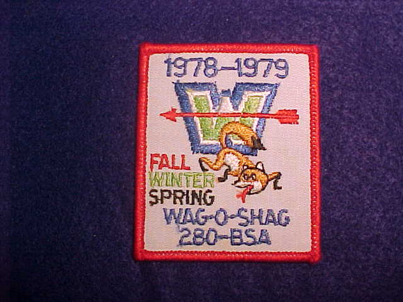 280 EX1978 WAG-O-SHAG, 1978-79 FALL/WINTER/SPRING