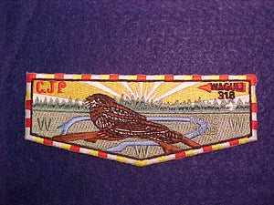 318 S55 WAGULI, NOAC 2009, MULTI BORDER, CUT EDGE