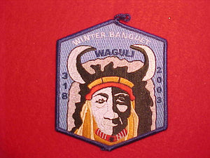 318 EX2003-? WAGULI, 2003 WINTER BANQUET