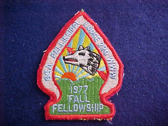 230 EA1977 PELLISSIPPI, 1977 FALL FELLOWSHIP