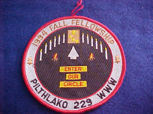 229 eR1994-2 PILTHLAKO, FALL FELLOWSHIP