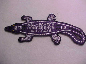 237 eX2000-2 AAL-PA-TAH, S-4 CONFERENCE DELEGATE