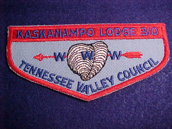 310 F2c KASKANAMPO, TENNESSEE VALLEY C.