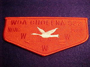 322 S34 WOA CHOLENA, NOAC 2002, RED GHOST