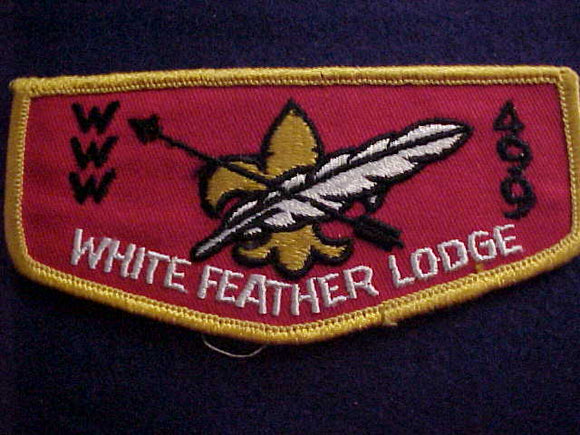 499 F2b WHITE FEATHER