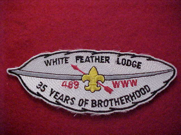 499 X1 WHITE FEATHER, 35 YEARS OF BROTHERHOOD