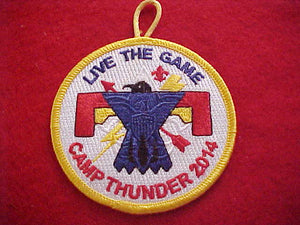 "324 eR2014-? INI-TO, CAMP THUNDER, 2014, ""LIVE THE GAME"""