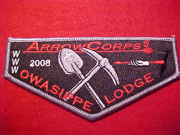 7 S38 OWASIPPE, 2008 ARROW CORPS 5