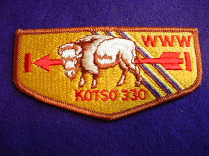 330 S5 KOTSO, BROTHERHOOD