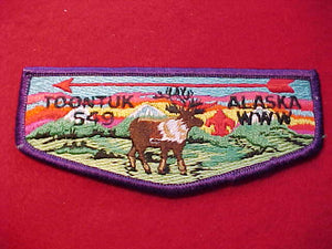 549 S2b TOONTUK, ALASKA, YELLOW EYE