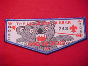 243 W3 MOWOGO, 2000 NOAC, THE MILLENNIUM BEAR