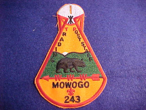 243 X5 MOWOGO, TRADING POST STAFF