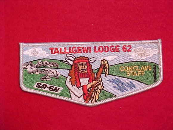 62 S20 TALLIGEWI, CONCLAVE STAFF 2002