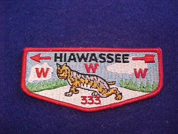 333 S2 HIAWASSEE, MERGED 1963