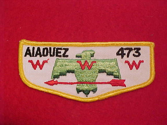 473 F3 AIAOUEZ, MERGED 1972, USED