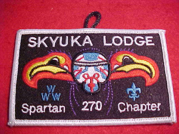 270 X3 SKYUKA, SPARTAN CHAPTER