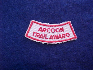 369 YX1 ARCOON, CAMP TRAIL AWARD SPONSORED BY LODGE