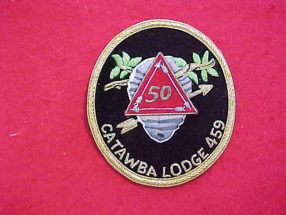 459 B1 CATAWBA, BULLION, VIGIL MEMBER, 50TH ANNIVERSARY OF LODGE