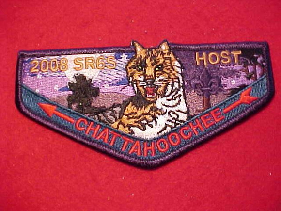 204 S? CHATTAHOOCHEE, 2008 SR6S CONCLAVE HOST, BLUE BORDER