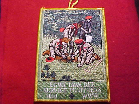 129 eX2010-? EGWA TAWA DEE, 2010, SERVICE TO OTHERS