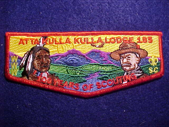 185 S? ATTA KULLA KULLA, 2010, 100 YEARS OF SCOUTING