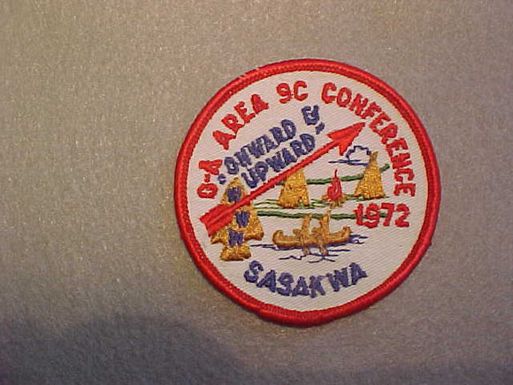 1972 AREA 9-C CONFERENCE,CAMP SASAKWA