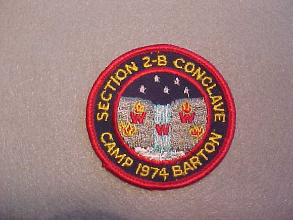 1974 SECTION NE2-B CONCLAVE,CAMP BARTON