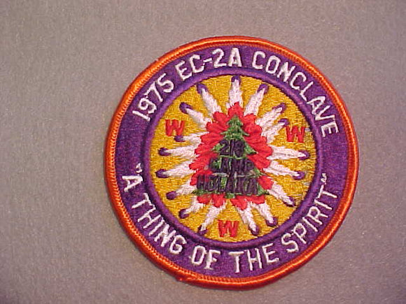 1975 SECTION EC-2A CONCLAVE,HOST LODGE 218,CAMP HOLAKA