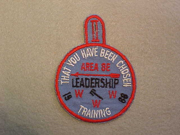 1968 AREA 8E CONCLAVE PATCH