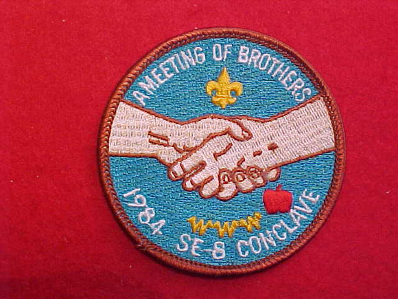 1984 SECTION SE8 CONCLAVE PATCH