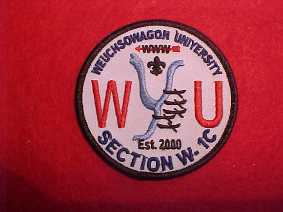 SECTION W-1C WEUCHSOWAGON UNIVERSITY, 2000