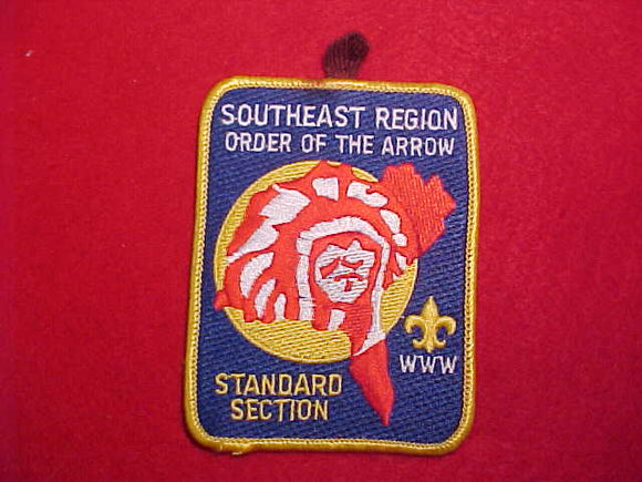 SOUTHEAST REGION STANDARD SECTION PATCH