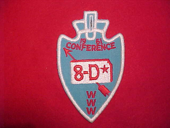 1961 AREA 8D CONFERENCE