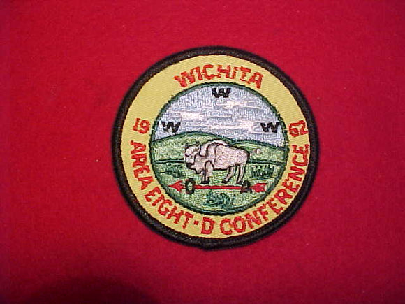 1962 AREA 8D CONFERENCE, WICHITA, KANSAS, RARE