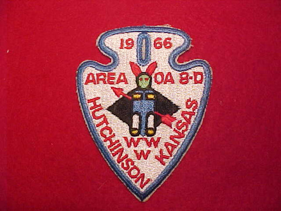 1966 AREA 8D, HUTCHINSON, KANSAS, RARE