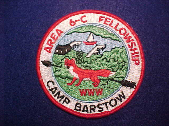 1971 AREA 6C FELLOWSHIP, CAMP BARSTOW