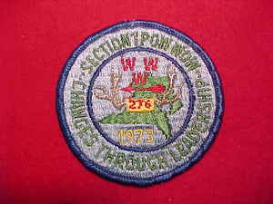 1973 SE1 POW WOW, HOST LODGE 276 SHENSHAWPOTOO, USED