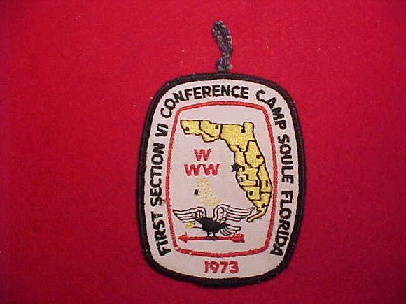 1973 SE6 CONFERENCE, CAMP SOULE, FLORIDA, SLIGHT USE