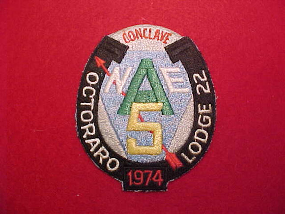 1974 NE5A CONCLAVE, HOST LODGE 22 OCTORARO