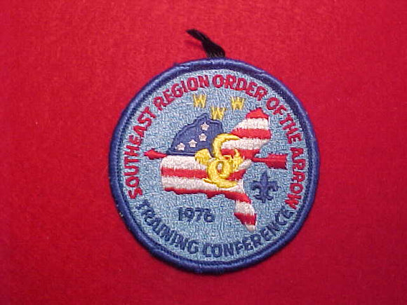1976 SOUTHEAST REGION TRAINING CONFERENCE