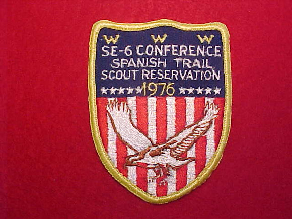 1976 SE6 CONFERENCE, SPANISH TRAIL SCOUT RESERVATION