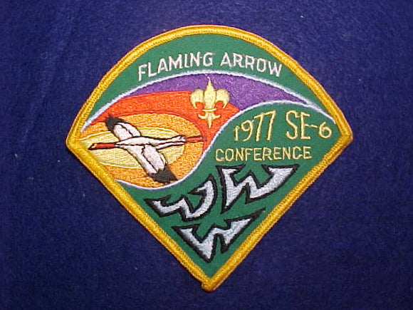1977 SE6 CONFERENCE, CAMP FLAMING ARROW