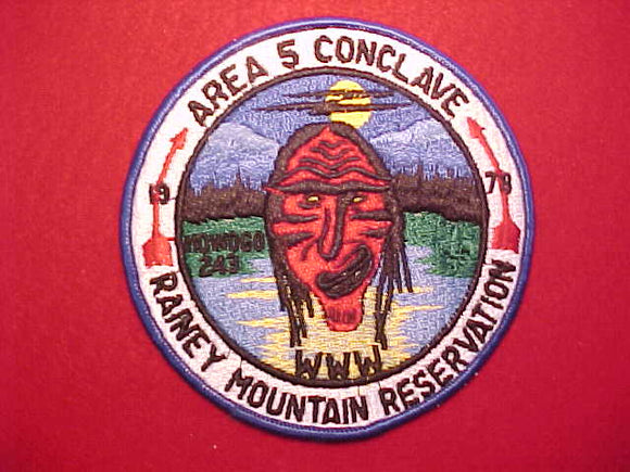 1978 SE5 CONCLAVE, RAINEY MOUNTAIN RESERVATION, HOST LODGE 243 MOWOGO