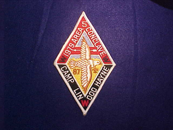 1979 SE5 CONCLAVE, CAMP LINWOOD HAYNE, HOST LODGE 87 BOBWHITE
