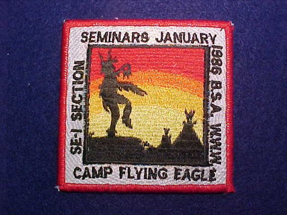 1986 SE1 SECTION SEMINARS, CAMP FLYING EAGLE