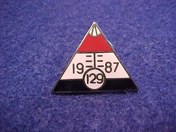 1987 SE4 CONCLAVE PARTICIPATION PIN
