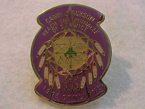 1996 PIN, SECTION SR8 CONCLAVE, CAMP JACKSON